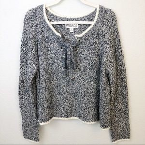Wildfox blue knit sweater